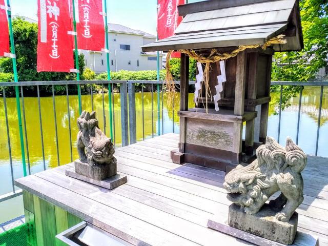 萱津神社の末社