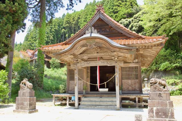 佐賀県淀姫神社の本殿