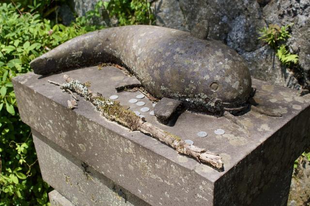 佐賀県淀姫神社の狛犬