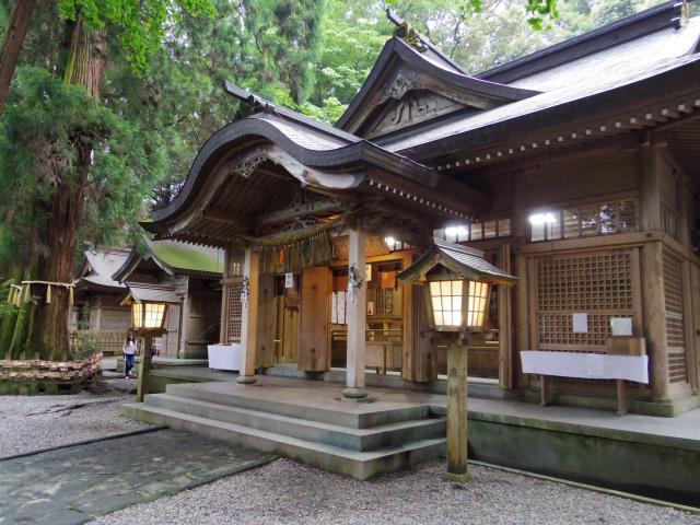 宮崎県高千穂神社の本殿