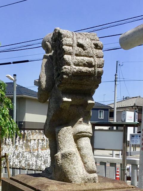 神奈川県二宮神社の像