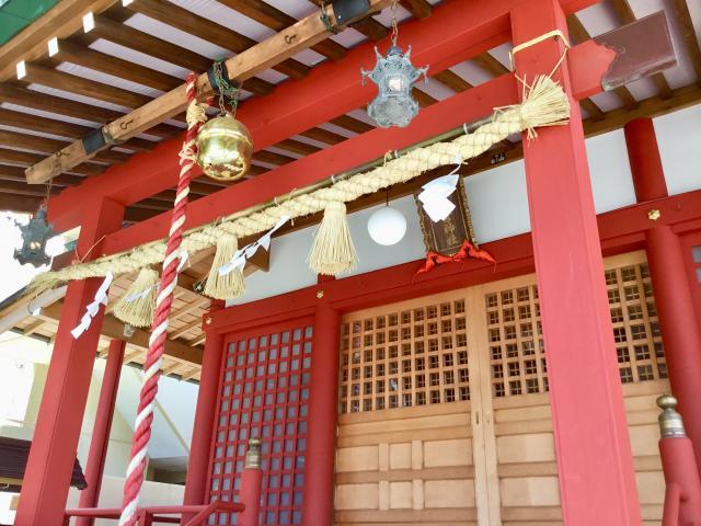 神奈川県二宮神社の本殿