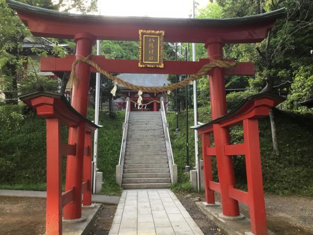 東京都南大沢八幡神社の鳥居