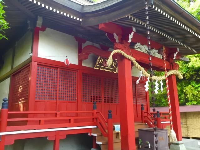 東京都南大沢八幡神社の本殿