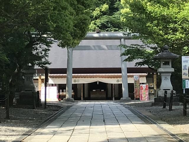 茨城県常磐神社の本殿