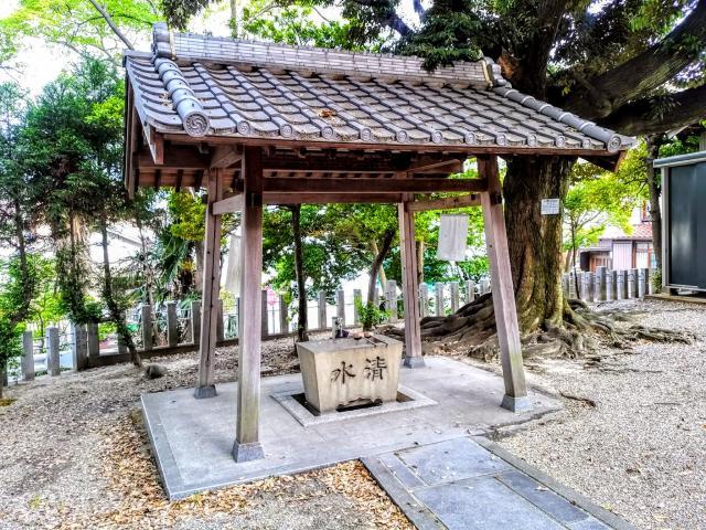 八幡社(渡内八幡社)(愛知県聚楽園駅) - 手水舎の写真