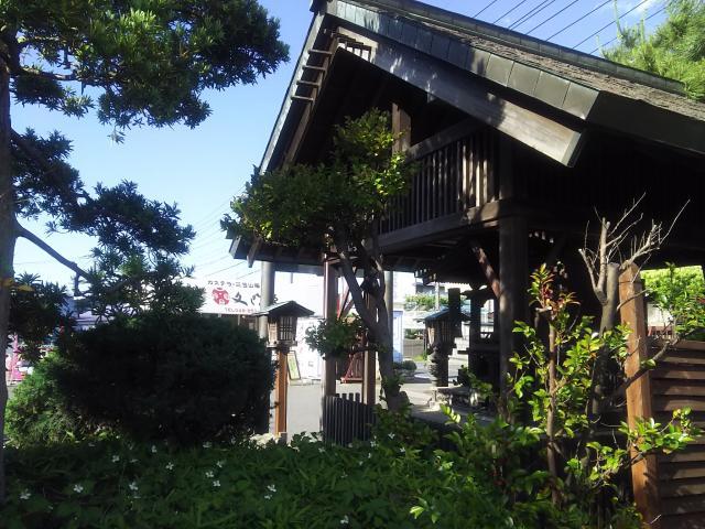 菓祖神社の本殿