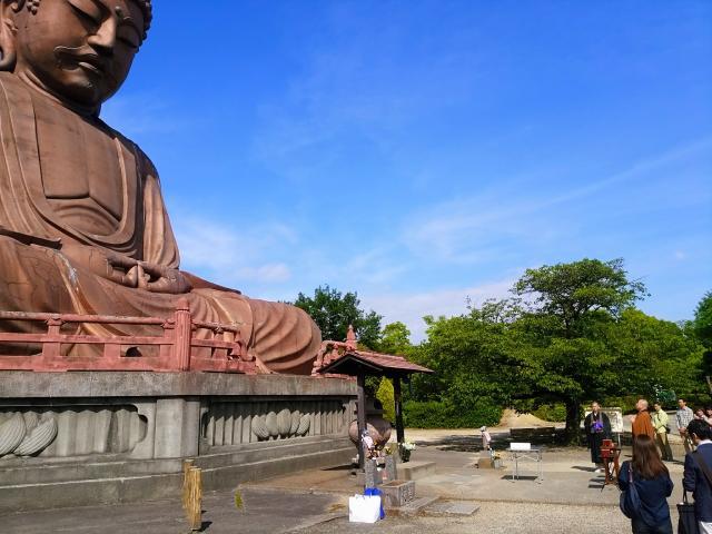 大仏寺の像
