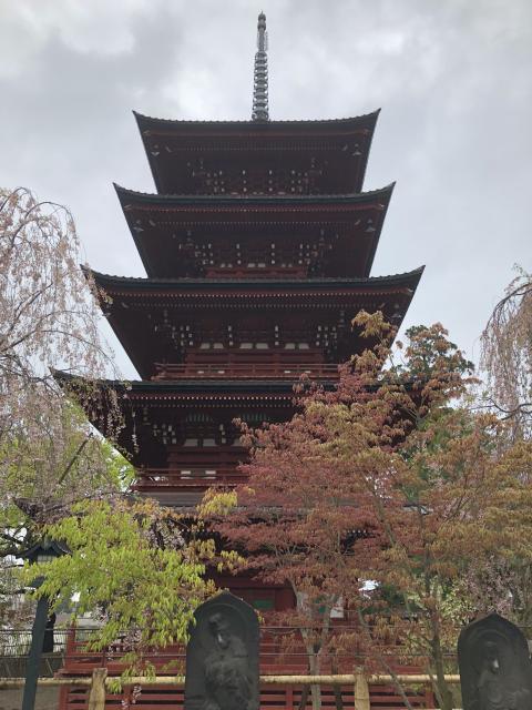 最勝院の塔