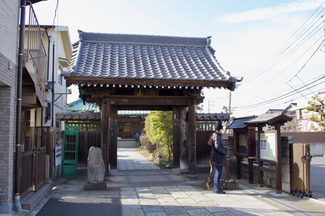 神奈川県九品寺の本殿