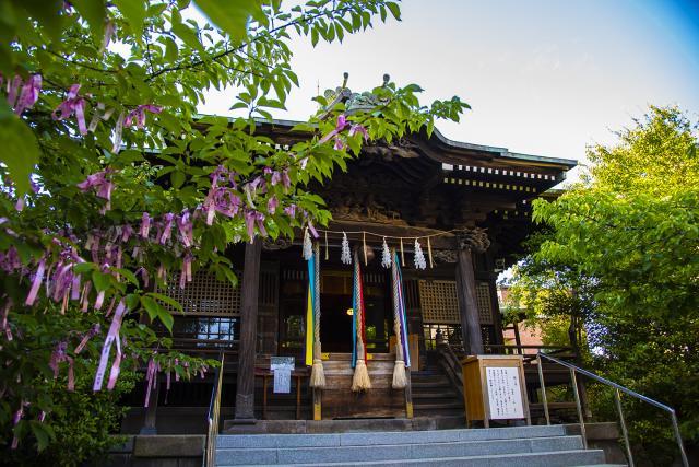 桜神宮の本殿