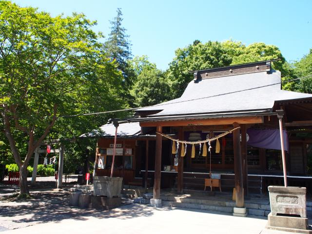 栃木県賀茂別雷神社の本殿