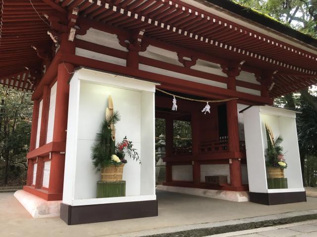 岡山県吉備津神社の本殿
