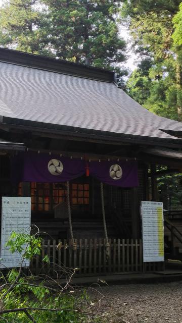 栃木県大田原神社の本殿