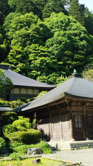 栃木県雲巌寺の本殿