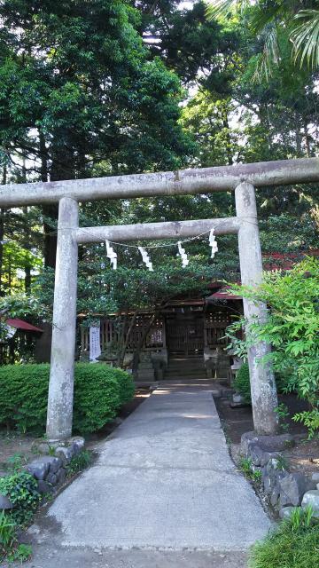 栃木県笠石神社の鳥居