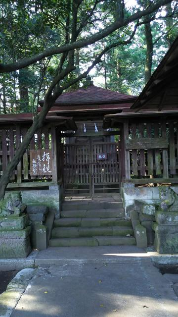 栃木県笠石神社の建物その他