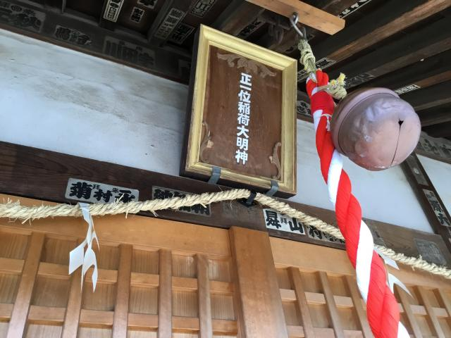 出世稲荷神社の本殿