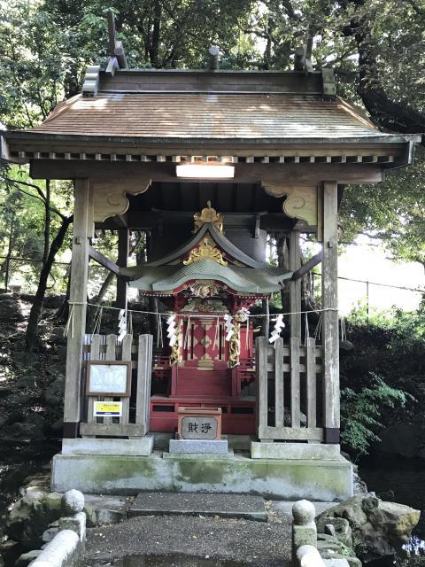 茨城県泉神社の本殿