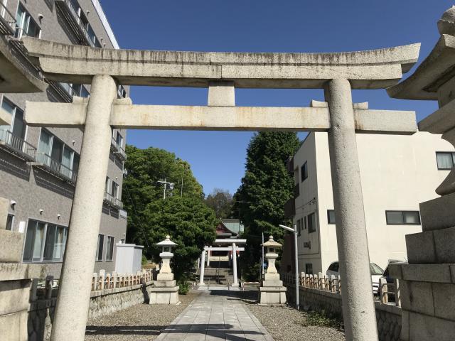 茨城県鹿嶋神社の鳥居