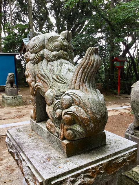 戸隠神社の狛犬