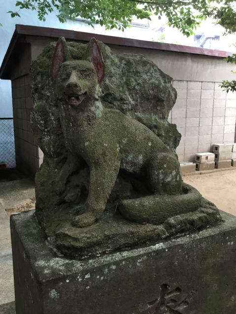 宿大神社の狛犬