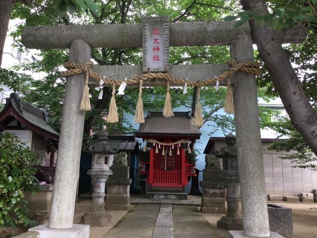 千葉県宿大神社の本殿