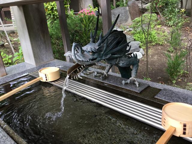 大宮神社の手水