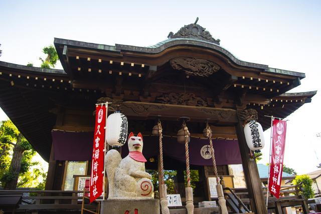 久富稲荷神社の本殿