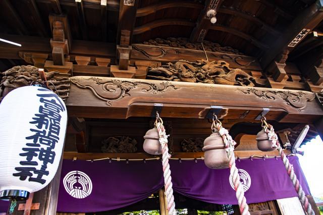 久富稲荷神社の芸術
