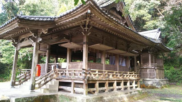 鹿児島県精矛神社の本殿
