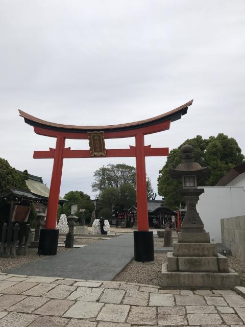 大阪府姫嶋神社の鳥居