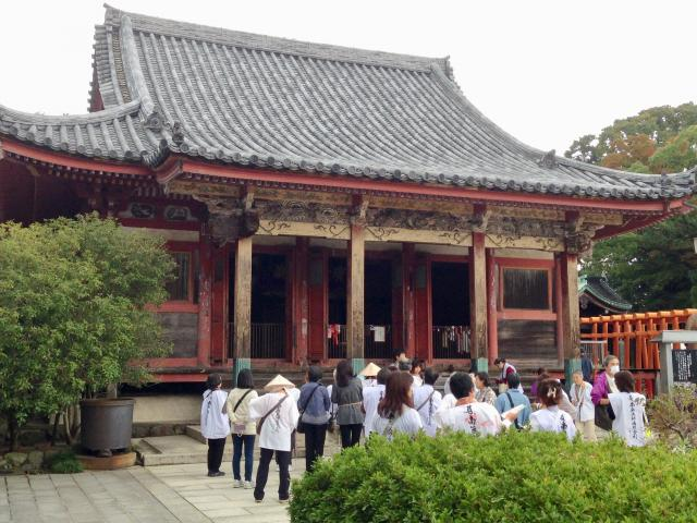香川県屋島寺(南面山千光院)の本殿