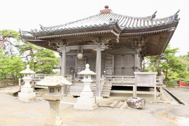宮城県瑞巌寺五大堂の本殿