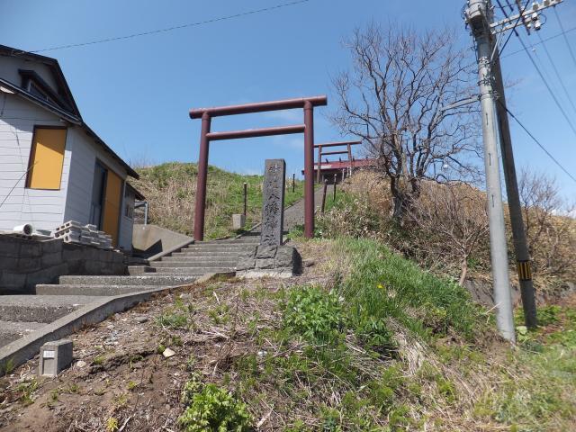 北海道八幡神社の鳥居