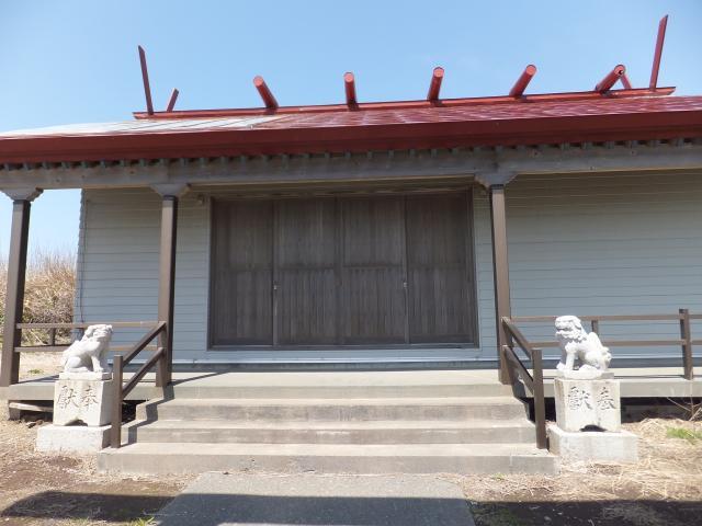 北海道八幡神社の本殿