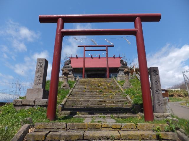 北海道厚田神社の鳥居