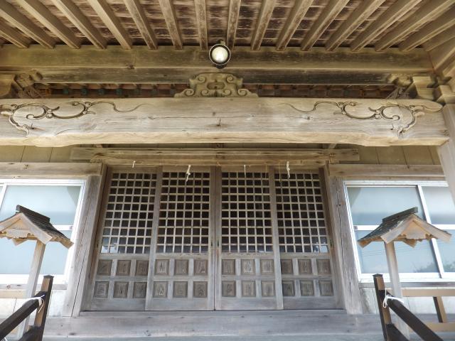 北海道厚田神社の本殿