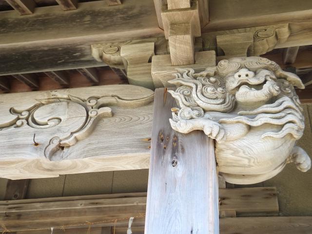 厚田神社の芸術