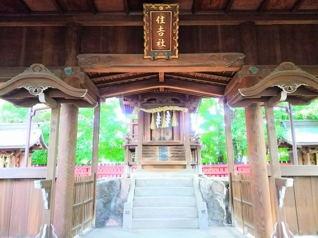 愛知県住吉社の本殿