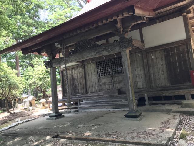 福島県塩釜神社の本殿