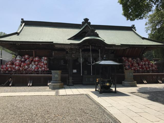 群馬県達磨寺の本殿