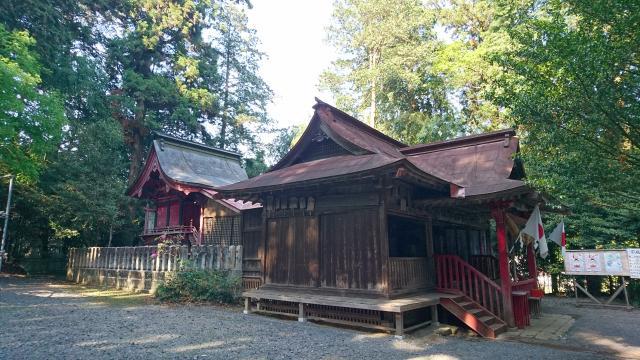 栃木県安住神社の本殿