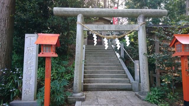 栃木県安住神社の鳥居