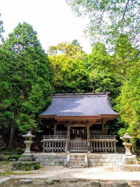 愛知県猿投神社の本殿