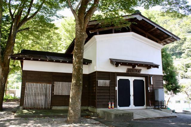 岐阜県飯島八幡神社の建物その他