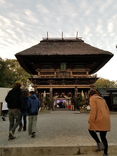 熊本県青井阿蘇神社の山門