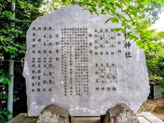 八柱神社の歴史
