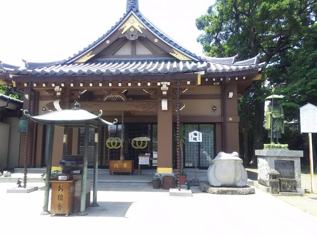 東京都炎天寺の本殿