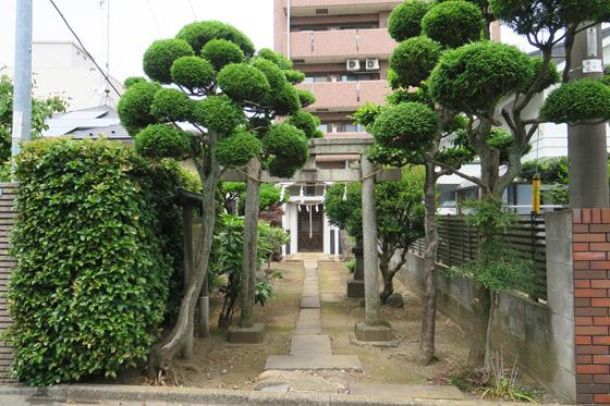 埼玉県金山神社の建物その他